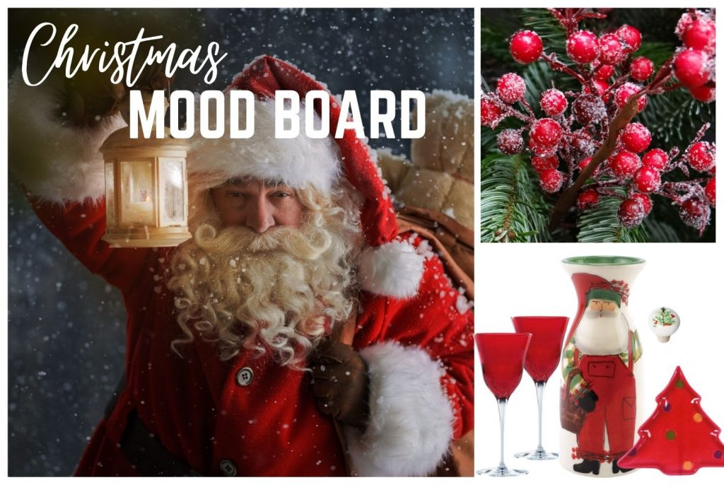 Christmas Curated Box Mood Board