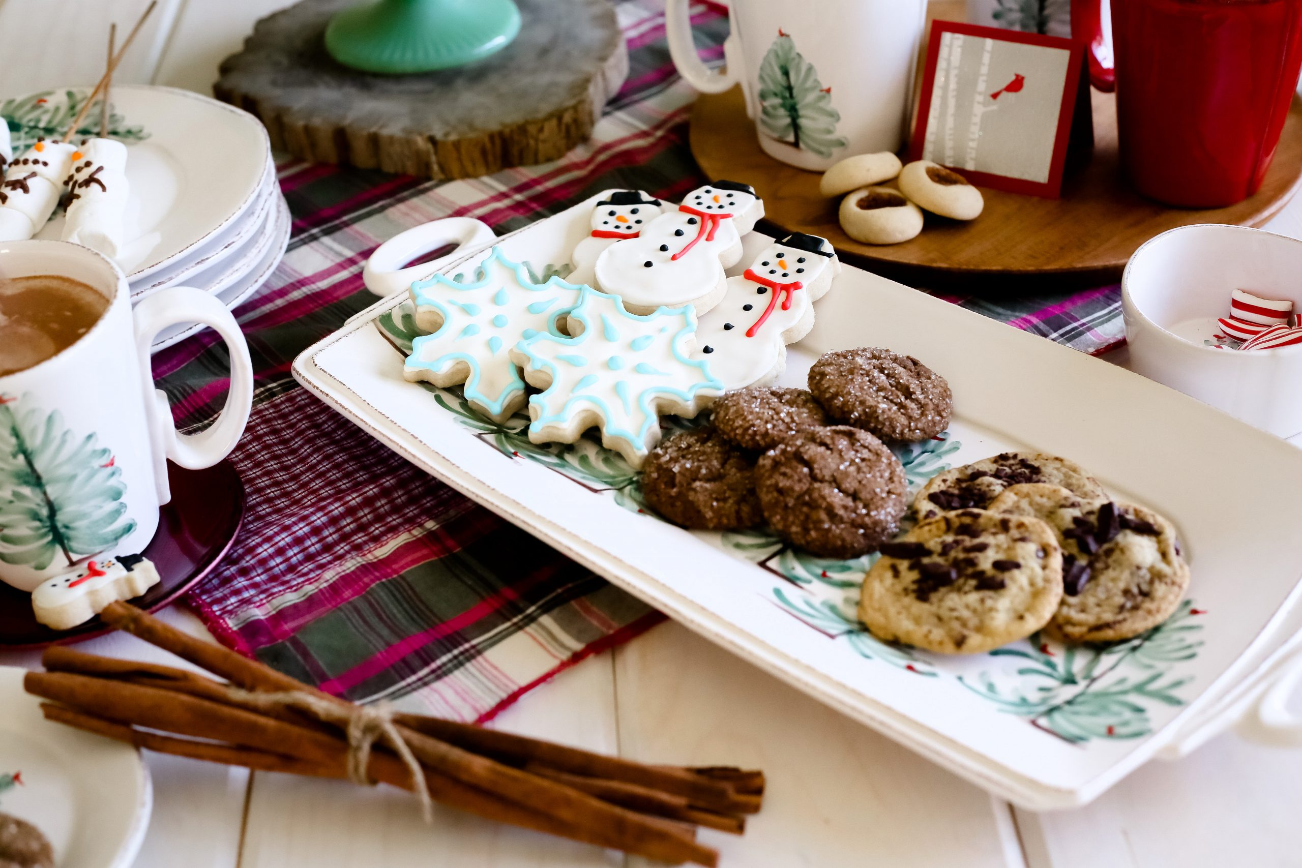 Lastra Cookie Tray and Mugs
